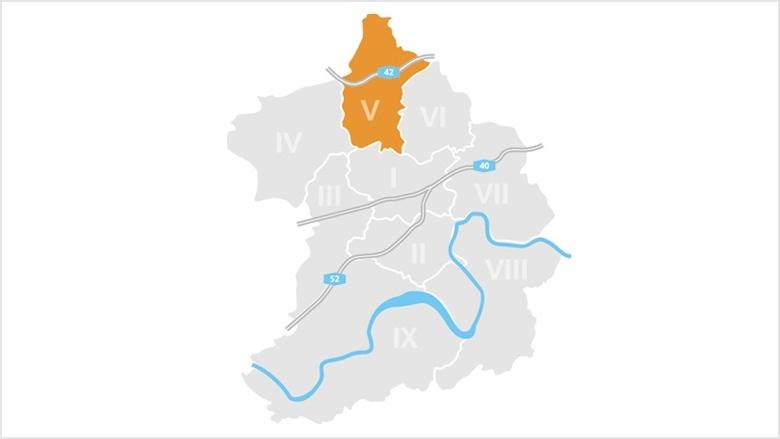 Bezirk V: Altenessen, Karnap und Vogelheim
