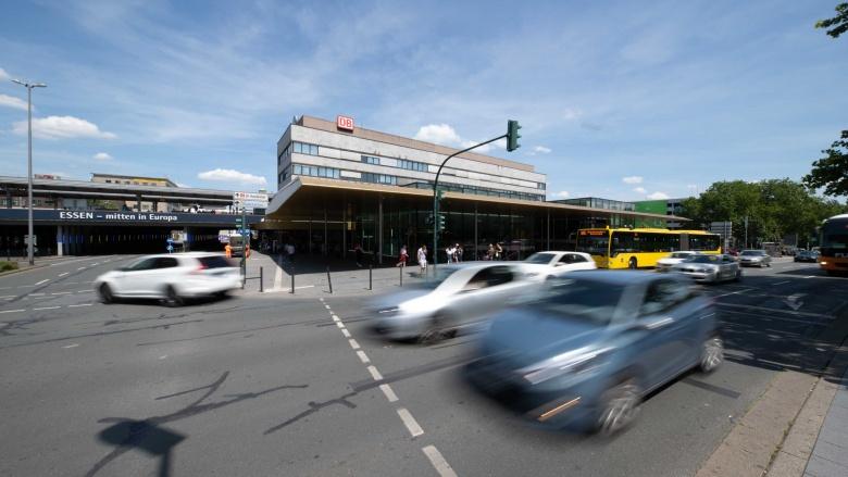Straßenverkehr in Essen