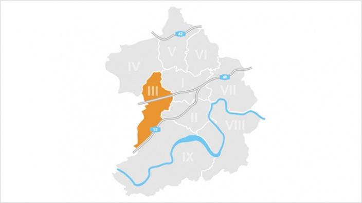 Bezirk III: Essen-West
