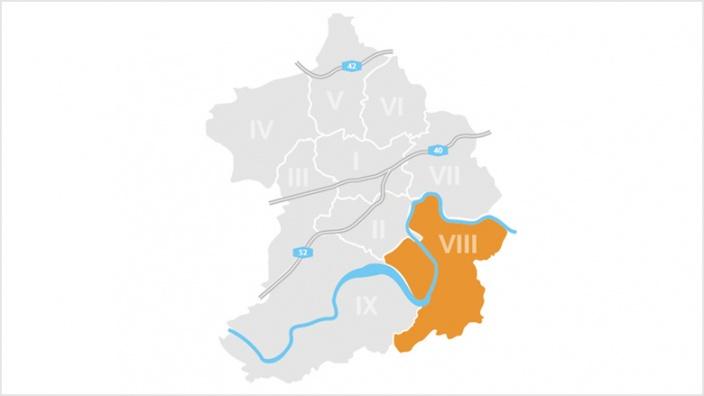 Bezirk VIII: Ruhrhalbinsel