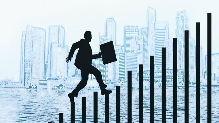 Steigende Beschäftigungszahl