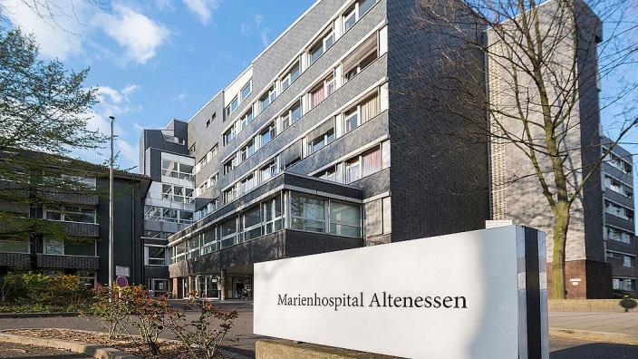 Außenansicht Marienhospital Altenessen